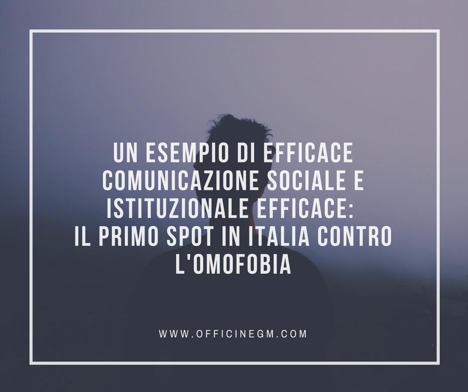 Comunicazione istituzionale e sociale