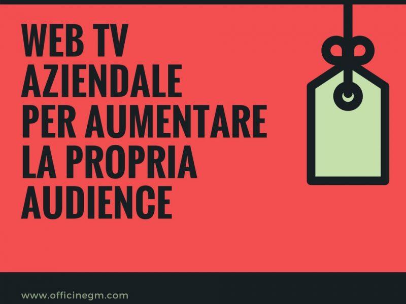 web tv aziendale
