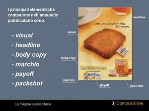 elementi pubblicita