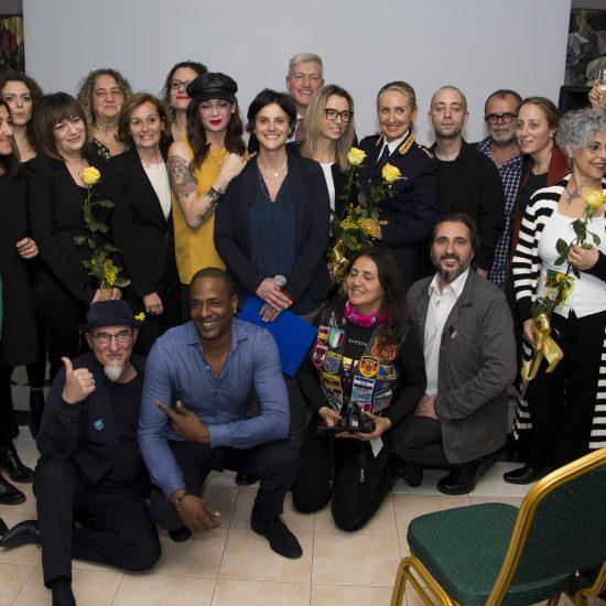 Valentina Vezzali Mimosa Martini e le associazioni aderenti alla campagna #4women4earth – Foto Roberto Bordino #4women4earth